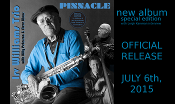 news15.06 IrvWilliamsTrio-Pinnacle releaseannouncement s